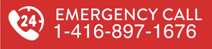 24/7 emergency call