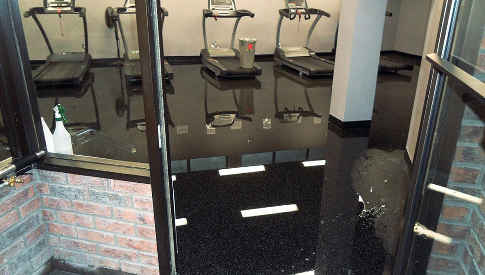 Water damage restoration repair toronto GTA before